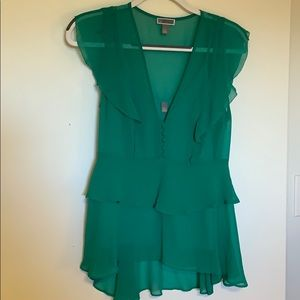 Very light and airy beautiful green Chelsea top!